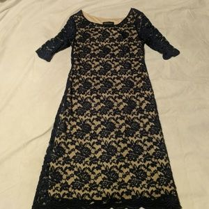 Lacey navy blue dress